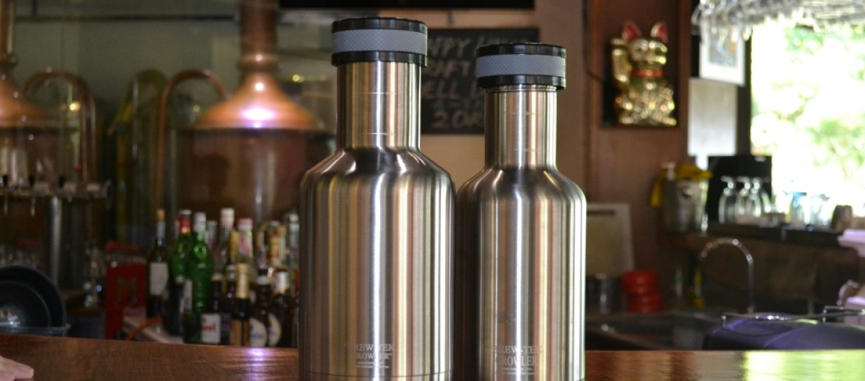 Brew-Tek Growlers, the best on the market