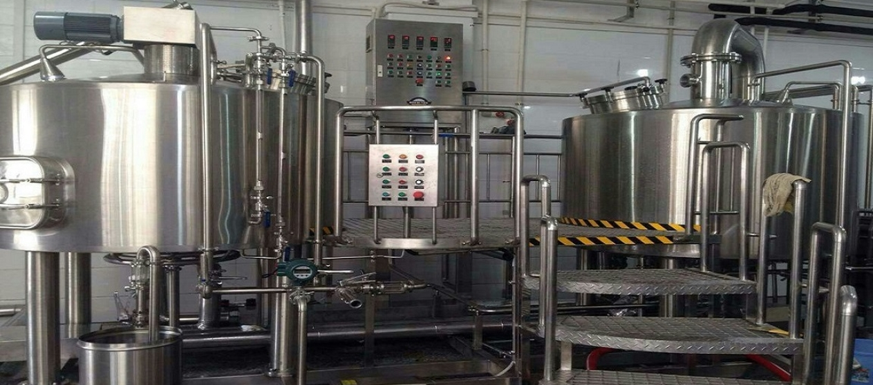 2-Vessel 10-Barrel BrewFresh Brewhouse